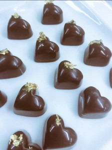 Andrew Jones - chocolates ready for packaging