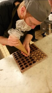 Paul.A.Young - creating the exclusive chocolates
